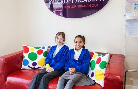Ryecroft Academy Reception